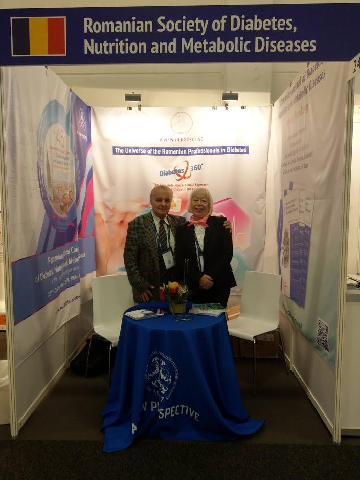 Prof. Dr. Constantin Ionescu-Tirgoviste + Mariana Rocsin – secretariat tehnic SRDNBM
