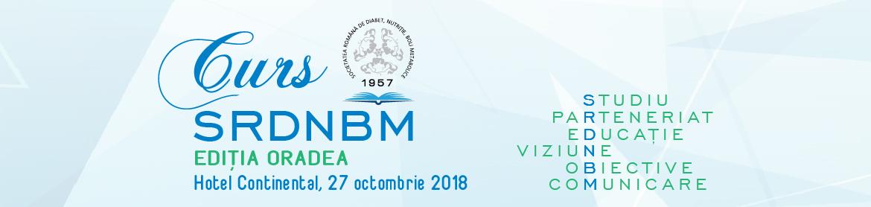 Cursul Societății Române de Diabet, Nutriție și Boli Metabolice