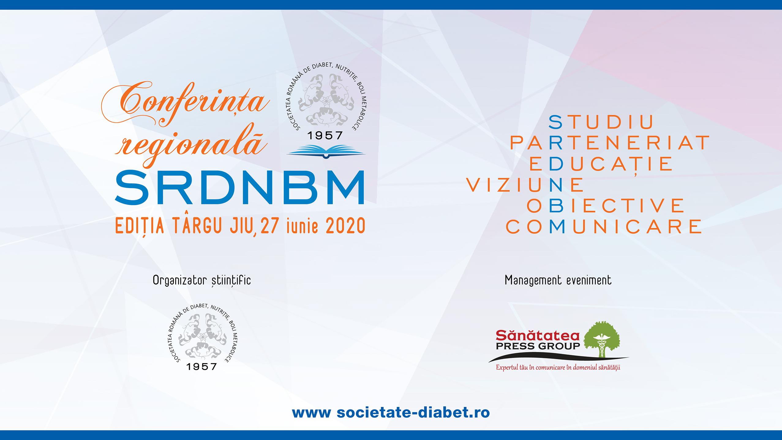 Conferința regională a SRDNBM – Ediția TÂRGU JIU, 27 iunie 2020